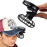 Summer Portable Mini Solar Powered Clip Fan Must-have Hat Cap Fine Good For Mountain Climbing, Camps And Wilderness Survival