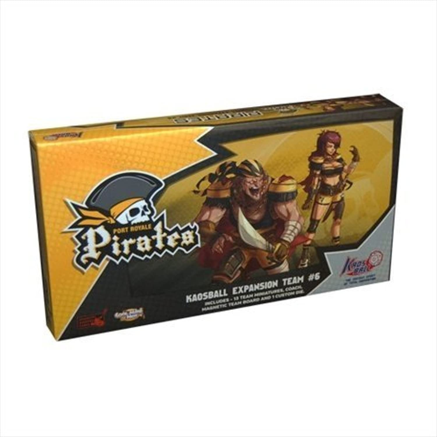 Cool Mini Or Not KB0007 Kaosball Port Royale Pirates Team by Cool Mini or Not