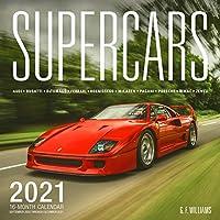 Supercars 2021: 16-Month Calendar - September 2020 through December 2021