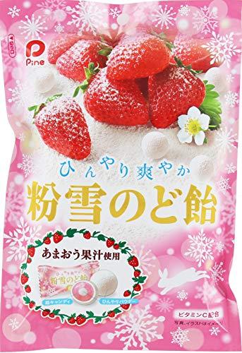 パイン�� 粉雪のど飴 苺 70g ×6袋
