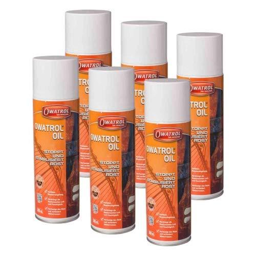 6 x Owatrol Öl Spray 300ml