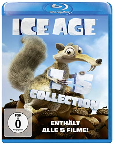 Ice Age - Box Set Teil 1-5 [Blu-ray]