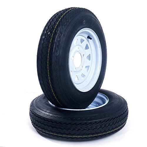 12 inch trailer wheel and tire - 4