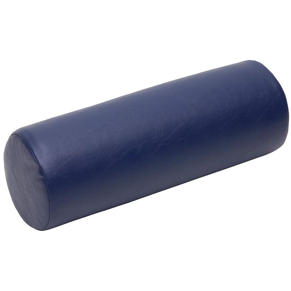 主人意義聖なるLLOYD (ロイド) ダッチマンロール 【円柱型】 マッサージ クッション 椎間板 の 施術 足首 の支え 側臥位 の際の 枕 にも最適 (ネイビー)