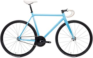 The Undefeated II - Photon Blue Edition - 7005 Aluminum Premium Fixed Gear Bike 52cm