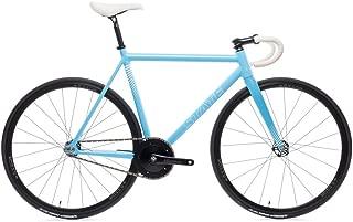 The Undefeated II - Photon Blue Edition - 7005 Aluminum Premium Fixed Gear Bike 52cm