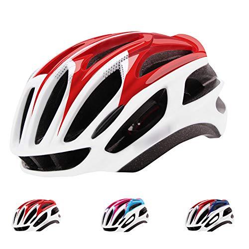 Casco Bicicleta Unisexo,CE Certified- Adulto Casco Bicicleta Montaña Hombres Mujeres,Microshell Ligero Casco Ciclismo Transpirable Casco Bici BMX Deporte al Aire Libre Equipo de Equitación,Style 2
