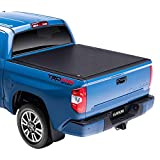 Gator ETX Soft Roll Up Truck Bed Tonneau Cover   53412   Fits 2007 - 2020 Toyota Tundra w/ track system 5'6' Bed Bed  ...