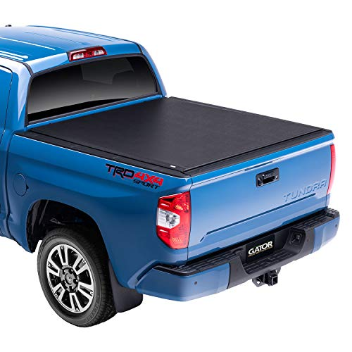"""Gator ETX Soft Roll Up Truck Bed Tonneau Cover   53412   Fits 2007 - 2021 Toyota Tundra w/ track system, will not work with Trail Edition models 5' 7"""" Bed (66.7'')"""