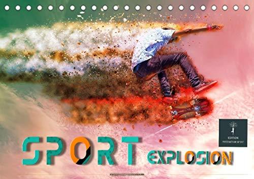 Sport Explosion (Tischkalender 2021 DIN A5 quer)