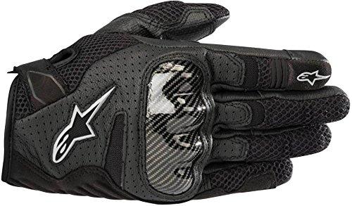 Alpinestars Motorradhandschuhe Stella Smx-1 Air V2 Gloves Black, Schwarz, L