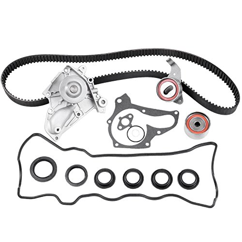 ECCPP Timing Belt Kit Automotive Replacement Timing Belt Water Pump Valve Cover Kit For Fit for TOYOTA Celica 2.0L 2.2L TBK138VC 3SFE 5SFE 1987-2001