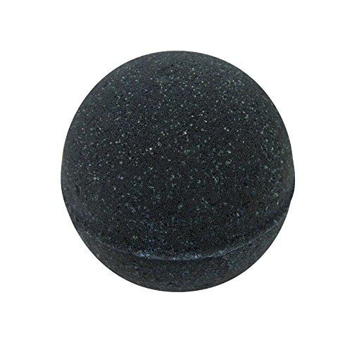 Black Bath Bomb for Men By The Bath Bomb Co. - Large Bath Bomb 7.5oz - Anti-Aging - Epsom Salts -...