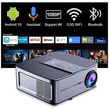 Smart Projector 4k Supported, Artlii Play3 Native...