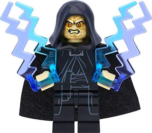 LEGO Star Wars Imperator Palpatine - Figura de Darth Sidious (2015) con flash de poder y espada láser