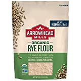 Arrowhead Mills Organic Rye Flour, 20 Ounce Bag (Pack of 6)