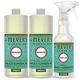 Mrs Meyer's Clean Day -1 Spray Multisuperficie + 2 Detergente Concentrato Multisuperficie ...