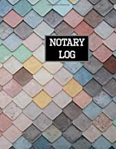 Notary Log: Notary Records Journal