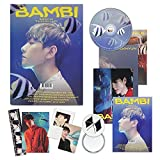 EXO BAEKHYUN 3rd Mini Album - BAMBI [ PHOTOBOOK(BAMBI) ver. ] CD + Photobook + Lyrics Book + Folded Poster(On Pack) + Clear Card + Sequence Flim + Postcard + Photo Card + OFFICIAL POSTER
