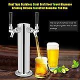 Distribution de bière exquise de Haute qualité, Tour de bière Forte, Distributeur de bière en Acier Inoxydable, pub Facile à Utiliser pour Le Bar à la Maison