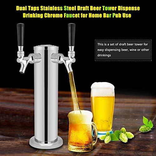 Oumefar Torre de Cerveza de Barril, dispensación de Cerveza, Torre de Cerveza de Bar, Bar Pub para el hogar