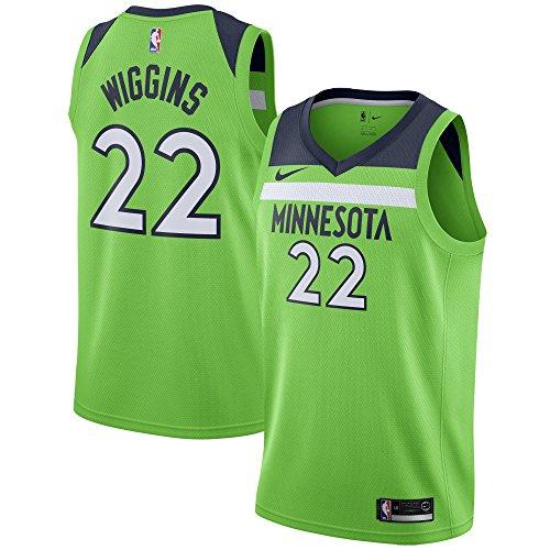 Nike Andrew Wiggins Minnesota Timberwolves Swingman Action Green Statement Edition Jersey - Men's 3XL (XXXL)