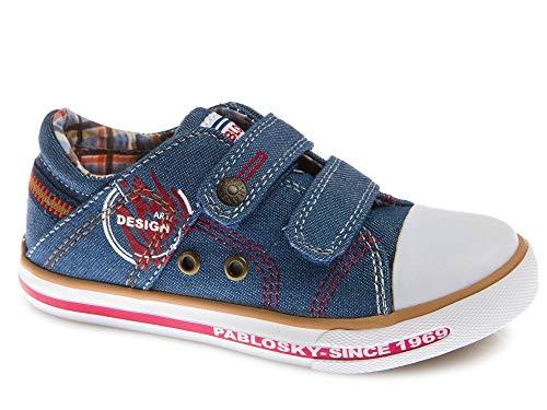 Zapatillas De Lona Niño Pablosky Azul 962311 28