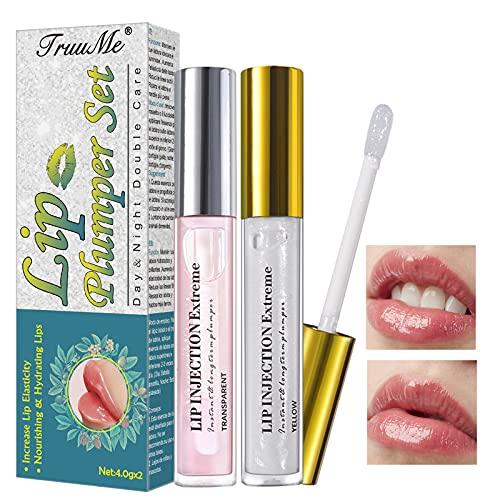 Lip Plumper, Lip Balm, Lip Butter, Lip Mask, Hydratisierte Lippen | Volumen Geben, Befeuchten, Lassen Sie die Lippen Voller und Praller Aussehen