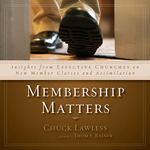 Membership Matters audiobook cover art