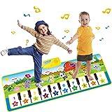 PROACC Klavier Playmat große Größe (39 * 14 Zoll) Kinder Klaviertastatur Musik Playmat Spielzeug, lustige Tanzmatte für Babys Kleinkind...
