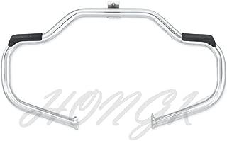 HONGK- Chrome Highway Rail Engine Guard Crash Bar Compatible with Harley Davidson Touring 2009-2017 Street Glide FLHX/Electra Glide Standard FLHT (Aftermarket 49155-09A) [B01LP9LD8C]
