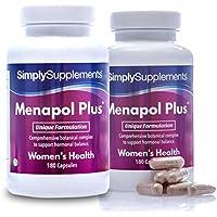 Menapol Plus - Para la menopausia - ¡Bote para 6 meses! - Apto para veganos - 360 cápsulas - SimplySupplements
