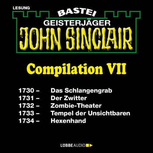 John Sinclair Compilation VII audiobook cover art