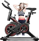 Bicicleta estacionaria Spin-Over Trainer Estacionario Bicicleta Interior Cardio de Cardio Bicicleta con Resistencia electromagnética