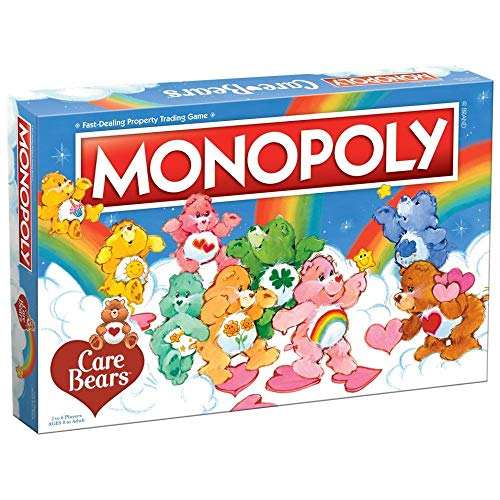 USAOPOLY Monopoly: Care Bears, Blue