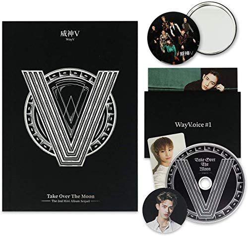WAYV 2nd Mini Album - Take Over The Moon [ SEQUEL ] CD + Booklet + Postcard +...