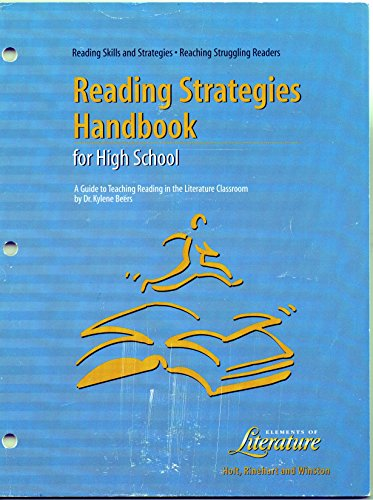 Reading Skills and Strategies: Reading Strategies Handbook for High School (Elements of Literature)