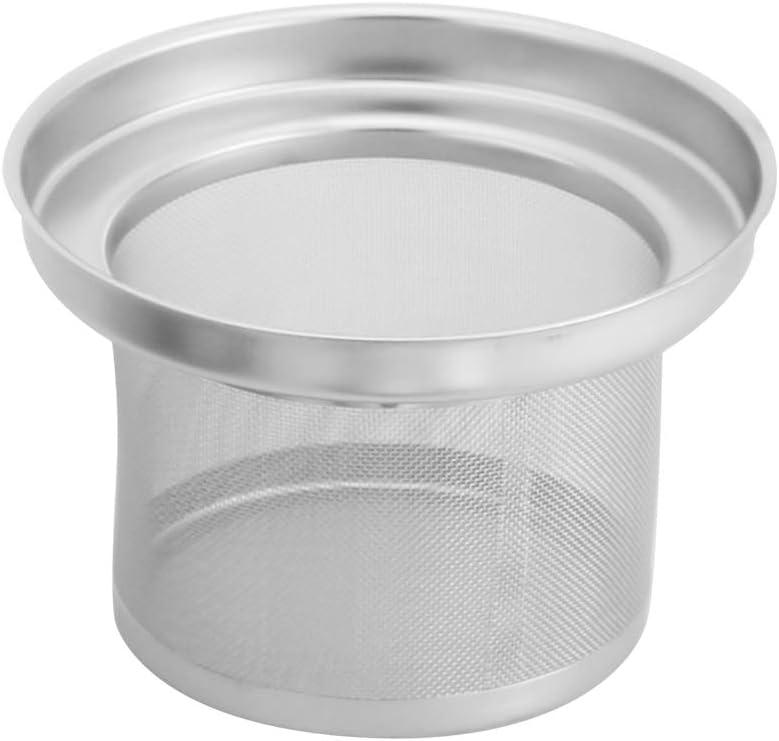 Teiera Oro 1,6 litri Bollitore per t/è Acciaio inossidabile con filtro infusore rimovibile Bollitore per acqua calda Bollitore veloce per t/è in fiore T/è sfuso