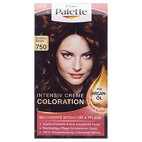 Poly Palette Coloration Stufe 3, 750 Schokobraun, 115 ml