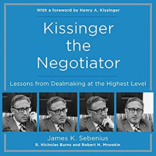 Kissinger the Negotiator audiobook cover art