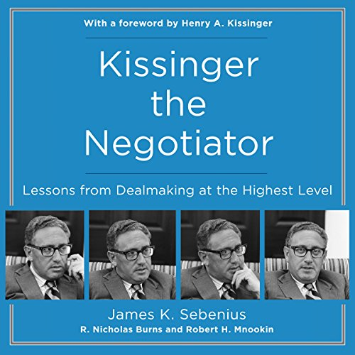 『Kissinger the Negotiator』のカバーアート