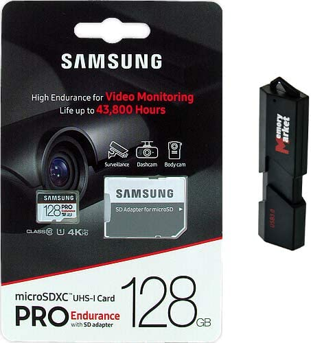 Samsung Pro Endurance 128GB MicroSD HC Card Super sale period limited Max 81% OFF UHS-I for Memory Len