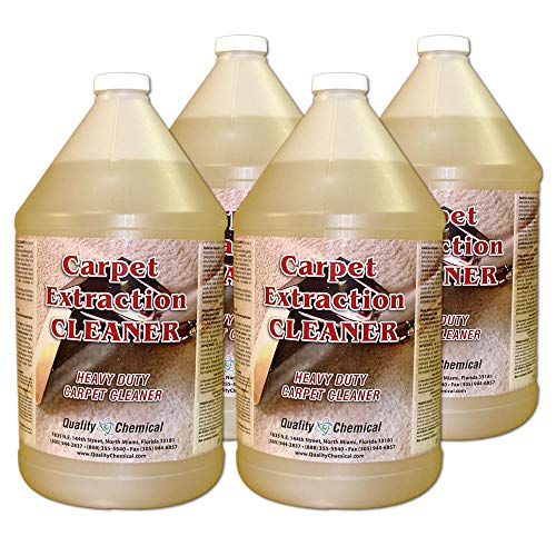 Commercial Carpet Extraction Cleaner and Shampoo. Heavy-duty carpet cleaner for use in all extraction type machines.-4 gallon case