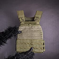 Monkeyhand's 5.11 Tactical weight vest with weight plates | 20 LB | olive