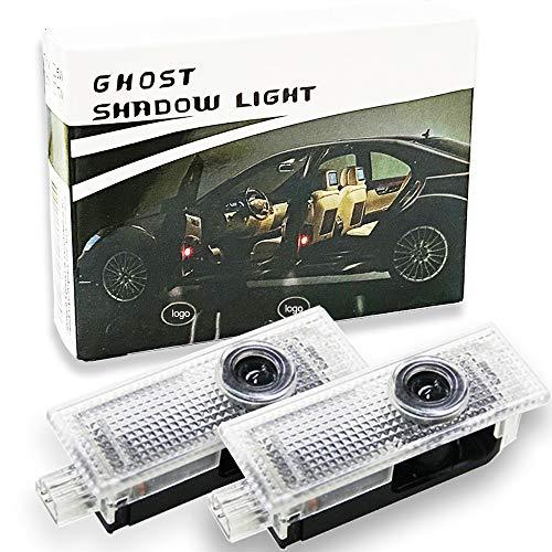 Spongent 2 Stück Auto Tür Lichter Auto Kompatibel mit Mini 2008-2017
