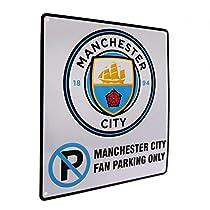 Manchester City マンチェスター・シティ オフィシャル パーキングオンリー サイン MANCITY-075