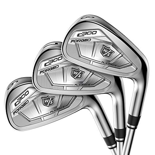 Wilson Staff C300 Forged Irons, Steel, Stiff, MRH, 4-PW, GW