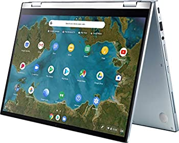 ASUS 14  FHD  1920 x 1080  LED-Backlit Touchscreen 2-in-1 Chromebook Intel Core M3-8100Y 4GB Memory 64GB eMMC Webcam Bluetooth Wireless-AC Backlit Keyboard Chrome OS 64GB ABYS Micro SD Card