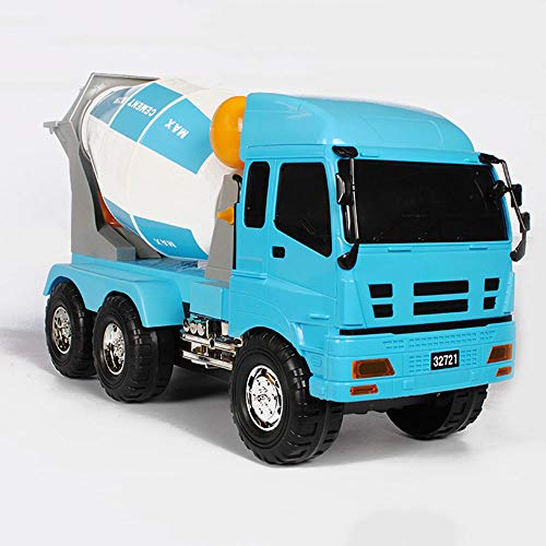 Mogicry Large Inertia Concrete Mixer Truck Cement Tanker Inertia Engineering Vehicle Kids Large Toy Gift New Boys and Girls/The Best Gift/Birthday Present for Kids 3+