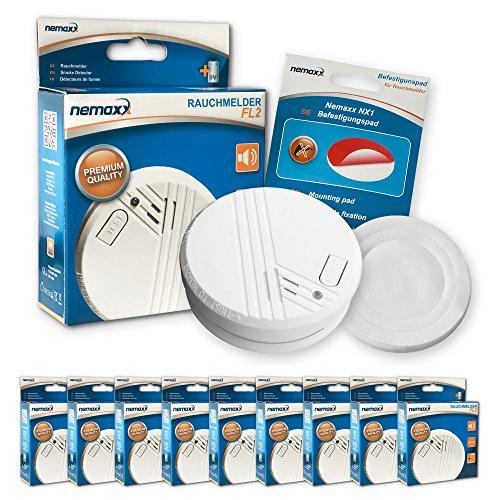 9X Nemaxx Detector de Humo FL2 - según...